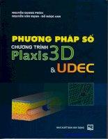 Ebook phương pháp số chương trình plaxis 3d UDEC   NXB xây dựng