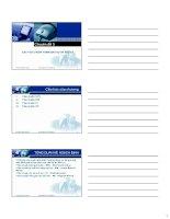 Bài giảng các tiêu chuẩn thẩm định dự án đầu tư (chuyên đề 3)