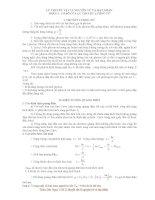 Lý thuyết vật lí nguyên tử và hạt nhân