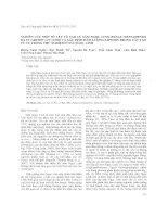 Nghiên cứu một số yếu tố tạo củ sâm ngọc linh (panax vietnamensis ha et grushv) in vitro và xác định hàm lượng saponin trong cây tạo từ củ trồng thử n