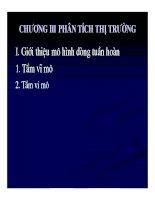 Bài giảng phân tích và lập dự án đầu tư  chương 3   ths trần thùy linh