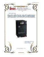 Tiểu luận  tìm hiểu máy biến tần FRA700 của mitsubishi
