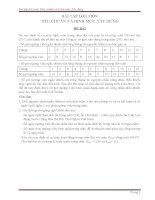 Bài tập lớn môn tiêu chuẩn và lập định mức xây dựng