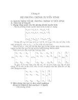 Bài giảng chương 4   hệ phương trình tuyến tính