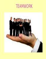 Bài Thuyết Trình Làm Việc Nhóm - Teamwork