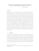 ẢNH HƯỞNG của TRÌNH độ học vấn đối với THU NHẬP của NGƯỜI LAO ĐỘNG ở ĐỒNG BẰNG SÔNG cửu LONG