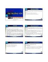 Bài giảng thị trường tài chính ( bùi ngọc toản)   chương 3  thị trường vốn