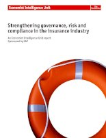 Strengthening governance, risk and compliance in the insurance industry