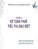 Bài giảng kế toán thuế  chương 2   GV  nguyễn ngọc thủy