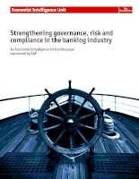 Strengthening governance, risk and compliance in the banking industry