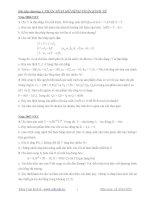Bài tập phân tích mô hình toán kinh tế   lê anh đức