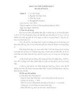 Báo cáo thực hành vật lý chất rắn   bài số 3 đo hệ số HALL