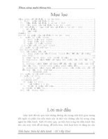 Tiểu luận công nghệ thông tin  hệ điều hành MS DOS