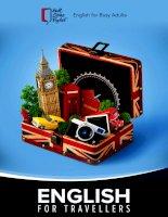 Cẩm nang tiếng anh du lịch  english for busy adult
