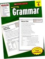 Success with GRAMMAR grade 4