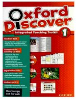 Oxford discover 1 teaching book  2014