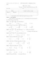 bộ đề kiểm tra toán 6 7 8 9 học kì 2