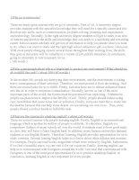 3 bài luận mẫu thi THPT QG 2016
