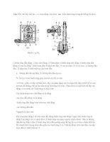 Câu 15 tr ình bày cấu tạo  v à  hoạt động  của bơm  dầu  kiểu bánh răng trong hệ thống bôi trơn
