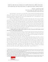 Những nội dung cơ bản của hiến pháp sửa đổi năm 2013 về chính quyền địa phương và định hướng triển khai (PGS, TS  nguyễn đức minh)