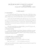 CHUYÊN đề hội THẢO các TRƯỜNG CHUYÊN đa THỨC lý THUYẾT và bài tập