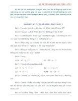 BỘ bài tập ôn LUYỆN HSG TOÁN   lớp 2
