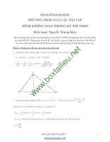 Chuyên đề hình học không gian 2012 thầy kiên
