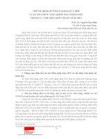 Những định hướng cơ bản sửa đổi luật tổ chức viện kiểm sát nhân dân nhằm cụ thể hóa hiến pháp năm 2013 (PGS, TS  nguyễn hòa bình)