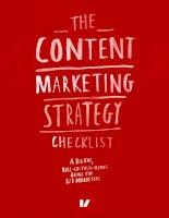 Marketing content marketing strategy checklist velocity partners