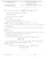 Đề thi học sinh giỏi huyện tĩnh gia môn toán 9 năm học 2015   2016(có đáp án)