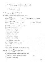 Phân dạng và phương pháp giải bài tập hoá học 11 p2