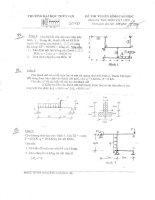đề thi cao học môn sức bền vật liệu2