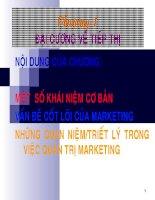 Slide quản trị marketing