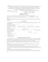 Lệnh tạm giam (giai đoạn chuẩn bị xét xử)