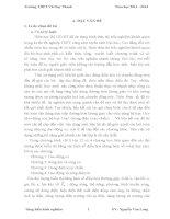 skkn sử DỤNG ĐƯỜNG TRÒN LƯỢNG GIÁC để GIẢI NHANH một số bài TOÁN DAO ĐỘNG điều hòa TRONG CHƯƠNG TRÌNH vật lí12 THPT