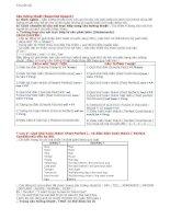 Phương pháp giải bài tập câu trực tiếp gián tiếp