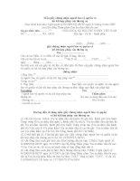 Mẫu giấy chứng nhận người bảo vệ quyền và lợi ích hợp pháp của đương sự
