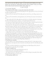 skkn xây DỰNG CHUYÊN đề dạy học và xây DỰNG hệ THÔNG câu hỏi KIỂM TRA, ĐÁNH GIÁ THEO ĐỊNH HƯỚNG PHÁT TRIỂN NĂNG lực học SINH CHO CHUYÊN đề DAO ĐỘNG SÓNG điện từ