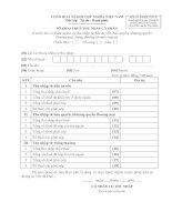 Tờ khai thuế thu nhập cá nhân - Mẫu số 19/KK-TNCN