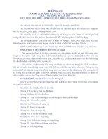 Mẫu hồ sơ mời thầu mua sắm hàng hoá theo Thông tư số 05 của Bộ Kế hoạch và Đầu tư