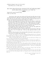 BÀI THU HOẠCH HT QT NGHỊ QUYẾT ĐẠI HỘI ĐẠI BIỂU ĐẢNG BỘ TỈNH AN GIANG LẦN THỨ IX
