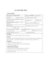Mẫu CV chi tiết cho người mới ra trường