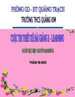 Bài giảng Đơn thức đồng dạng Đại số 7  Thi gv dạy giỏi