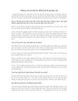 Những câu trả lời ăn điểm khi đi phỏng vấn