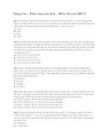 30 câu có lời giải Phản ứng este hóa – điều chế este nâng cao