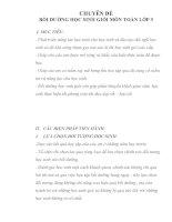 CHUYÊN đề bồi DƯỠNG học SINH GIỎI môn TOÁN lớp 5