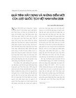 Báo cáo   qúa trình xây dựng và những điểm mới của luật quốc tịch việt nam năm 2008