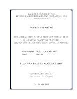 So sánh đặc điểm sử dụng phép liên kết nội dung qua hai tác phẩm viết về bác hồ (búp sen xanh của sơn tùng   cha và con của hồ phương)   luận văn ths  ngôn ngữ học  60 22 01 pdf