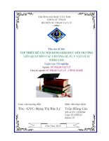tập thiết kế các nội dung giáo dục môi trường liên quan đến các chương iii, iv, v vật lý 12 nâng cao