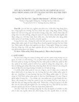 KẾT QUẢ NGHIÊN CỨU, XÂY DỰNG HỆ THỐNG QUẢN LÝ HOẠT ĐỘNG KHOA CHUYÊN NGÀNH
